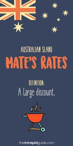 Australian slang: 31 hilarious australian expressions you should use Australia Slang, Australia Funny, Australia Travel, Australia Facts, Australia Visa, Iconic Australia, Western Australia, Australian Quotes, Australian Dictionary