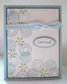 Soft Polk Dots by jenn4 - Cards and Paper Crafts at Splitcoaststampers