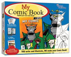 My Comic Book Making Kit by Easy Student Publishing