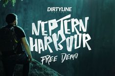 Neptern Harbour Free Font on Behance | Free Font Collection | Pinterest