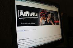Página web de Artipelu.