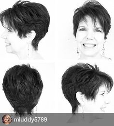 sassy pixie hairstyle for women over 50