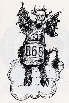 Fedeli alla Linea, Russian Criminal Tattoo Article  666