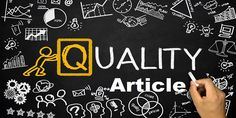 Complete Guide To Write Quality Articles On Your Blog   CPM
