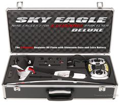 $109.00Nine Eagles Mini Cessna RC Plane (Red 2.4Ghz Deluxe Edition) - NineEagles-Plane-770B-Red-Alu