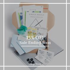 15% OFF Stick & Poke Kits and Supplies. Hurry, sale ending soon!  Check out our discounted products now: https://small.bz/AAZb1Ny