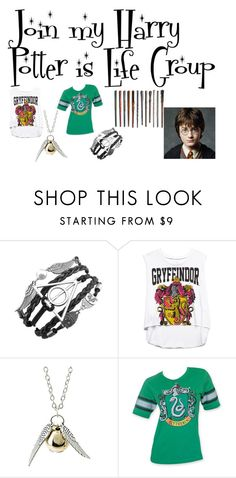 """""""Join my Harry Potter is Life Group"""" by annabellechristinewren ❤ liked on Polyvore featuring мода, Forever 21, women's clothing, women, female, woman, misses и juniors"""