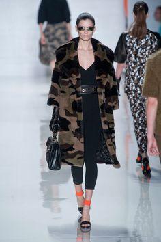 Fall 2013 Trends at New York Fashion Week - Modern Military at Michael Kors