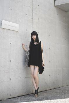 nkym: [Street Style] 円 | 大学生 | Harajuku (Tokyo) « DROPTOKYO