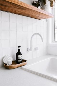 Modern Laundry Rooms, Laundry In Bathroom, Interior Design Inspiration, Bathroom Inspiration, Dream Home Design, House Design, Bathroom Renos, Bathrooms, Laundry Room Design