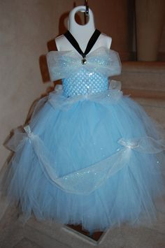 My First Cinderalla Inspired Tutu Dress. $46.95, via Etsy.