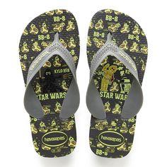 a885e3087e9 Havaianas Kids Max Star Wars Sandal Steel Grey