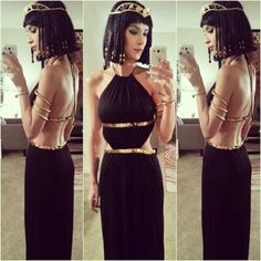 low back dress gold black dress