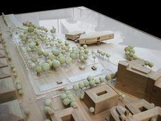 Botín Art Centre in Santander by Renzo Piano. Model photography, May 2012. Courtesy of Fundación Botín.