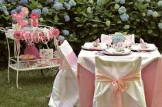 """Little girl's tea party ideas - """"party in a box"""" styling - Celebrations At Home blog"""