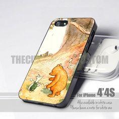 Winnie The Pooh Classic iPhone 4/4s Case