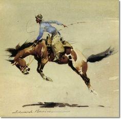 Edward Borein - The Buckaroo