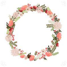 flores vintage-corona