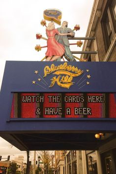 Wear your St. Louis Cardinals gear and watch the game at Blueberry Hill tonight and get $2 off a pitcher of beer or $1 off a pint! #PostCards #STLCards