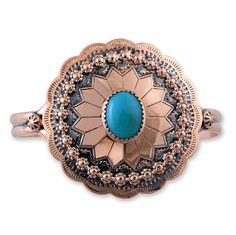 Concho Cuff Bracelet