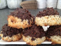 """Are you searching for """"pastries near me""""? Buttercream's bakeshop in downtown Apex, NC offers fresh baked pastries. Coconut Macaroons, Pastry Shop, Eclairs, Freshly Baked, Pastries, Tart, Bakery, Muffin, Treats"""