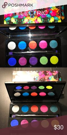 Urban Decay Electric Palette ⚡️ Only used once very lightly! Sanitized correctly, and In perfect condition! Brush was never used. Urban Decay Makeup Eyeshadow