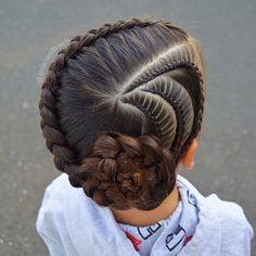 How is it Monday already Today B has side Lace braids and a Dutch braid into a flower Have a great day! . . . , #braidsforlittlegirls #hairstyles_for_girls #hairstyles #hairideas #inspirationalbraids #hotbraidsmara #braidinglife #cghphotofeature #toddlerhair #tophairfeatures #featuremebraids #braidsbyu #beyondtheponytail #longhairdontcare #modernsalon #americansalon #tangledandtrue #bbbmondaymentions #updo #hotd #косыдлядевочек #прическидлядевочек #brianasbraids