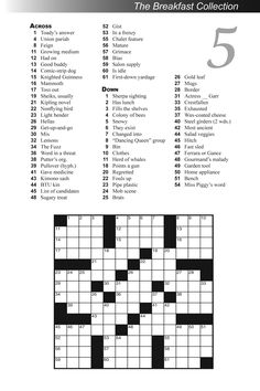 The 65 Best Crossword Puzzles Images On Pinterest