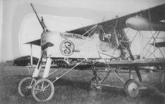 "Voisin Type 8 - ""Norman Prince"" Training slide for pilots and mechanics.  From the Robert McKenzie fonds, PR1991.0305/17."