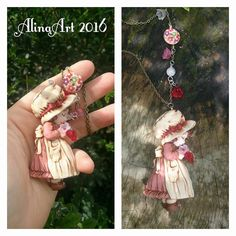 Sarah Kay, Holly Hobbie, Pasta Fimo, Cute Clay, Crafts To Do, Arm Warmers, Polymer Clay, Creations, Bloom