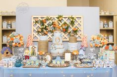 Cinderella Birthday Party via Kara's Party Ideas | Party ideas, decor, printables, tutorials, desserts, cake, recipes and more! KarasPartyIdeas.com (17)