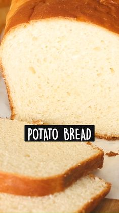 Fun Baking Recipes, Dessert Recipes, Cooking Recipes, Best Bread Recipe, Bread Recipes, Potato Bread, Biscuits, Muffins, Rolls