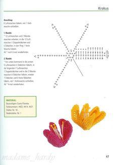 Crochet flower chart http://4.bp.blogspot.com/_1YRMW4plu8k/SPAMr0cyEPI/AAAAAAAABr4/q5cMWbAvosc/s1600-h/flores+18.1.jpg