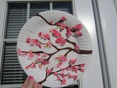 cherry blossom plates