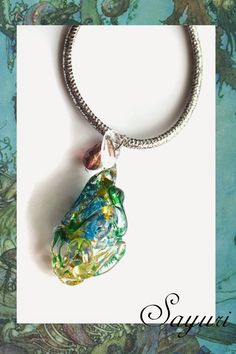 Art bead scene july challenge - handmade glass focal