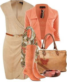 I love everything about this outfit!! It's great for work or date night!!