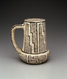 Vessel, Artist Unknown (Ancient Puebloan (Anasazi)) |Pinned from PinTo for iPad|