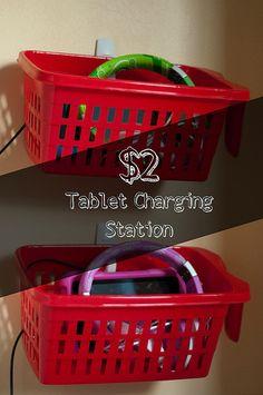 $2 Tablet Charging Station