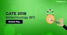 Gate Biotechnology 2018 Answer Key Exam Calendar, Entrance Exam, Biotechnology, Gate, Key, Portal, Unique Key, Gates, Keys