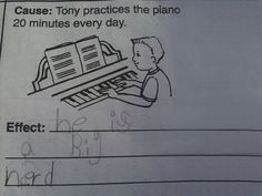 Funny pictures about 25 Kids That Gave Absolutely Brilliant Answers On Their Tests. Oh, and cool pics about 25 Kids That Gave Absolutely Brilliant Answers On Their Tests. Also, 25 Kids That Gave Absolutely Brilliant Answers On Their Tests photos. Funny Kid Answers, Funniest Kid Test Answers, Kids Test Answers, Dating A Teacher, School Humor, Really Funny, Super Funny, No Response, Laughter