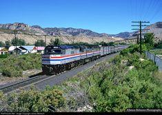 RailPictures.Net Photo: AMTK 224 Amtrak EMD F40PH at Spring Glen, Utah by James Belmont