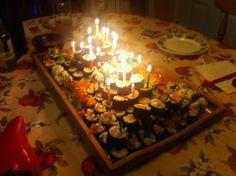 Sushi Cake Sushi Cake, Birthday Candles, Good Food, Desserts, Tailgate Desserts, Dessert, Postres, Deserts, Healthy Meals