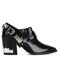 Shop Toga Pulla buckled chunky heel booties in b Store from the world's best independent boutiques at farfetch.com. Shop 300 boutiques at one address.
