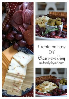 Today I am sharing a beautiful, easy to assemble DIY charcuterie tray. Yummy Appetizers, Appetizers For Party, Appetizer Recipes, Christmas Party Finger Foods, Cabot Cheese, Easy Entertaining, Recipe Boards, Charcuterie Board, Great Recipes