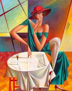 Georgy Kurasov - Cubismo