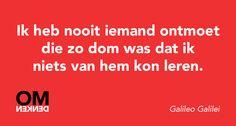 Gevonden op Facebook-pagina Omdenken.
