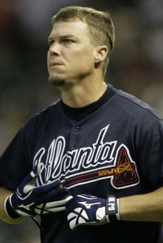 Chipper Jones I AM OFFICIALLY IN LOVE!!!!! <--lady I've been in love since birth, get in line