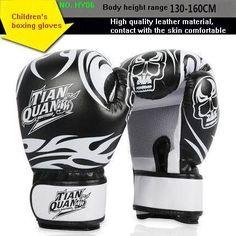 children Sanda boxing gloves sandbag gloves cadet grabbling professional Muay Thai Boxing Gloves