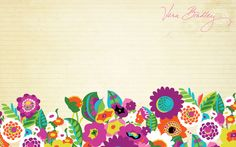 iPad, iPhone Vera Bradley Backgrounds