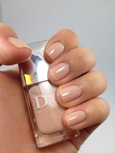Dior Nude Collection Nail Vernis 115 Charnelle  http://www.kaisobsessions.com/?p=834